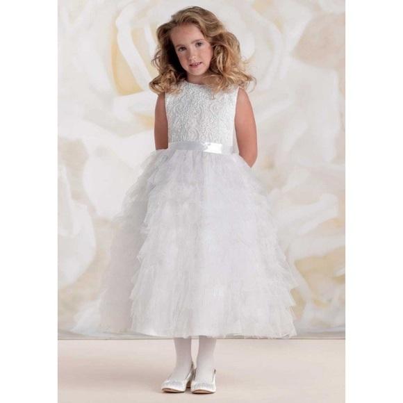 bd0d413c5c Joan Calabrese 115326 Flower Girl Communion Dress